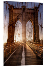 Acrylic print  Brooklyn Bridge NYC - Sören Bartosch