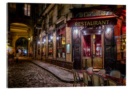 Acrylic glass  Parisian cafe - Jim Nix