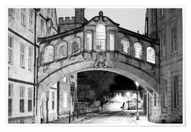 Premium poster Bridge of Sighs, England