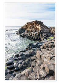 Premium poster  The Giants Causeway - Michael Runkel
