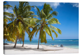 Canvas print  Mano Juan a picturesque beach - Jane Sweeney