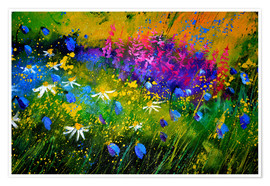 Premium poster Colorful meadow
