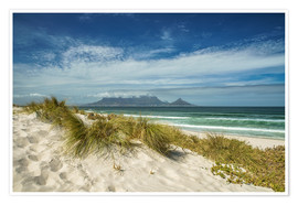 Premium poster  Cape Town South Africa - Achim Thomae
