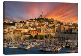 Canvas print  Marseille sunset - Vincent Xeridat