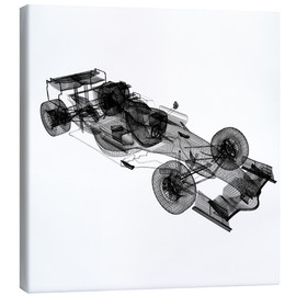 Canvas print  Transparent speed