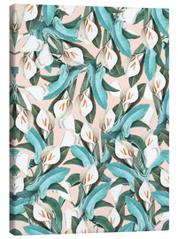 Canvas  Exotic Florals - Uma 83 Oranges