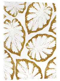 Acrylic glass  Monstera Gold - Uma 83 Oranges
