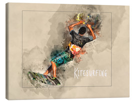 Canvas  kitesurfing cool - Peter Roder
