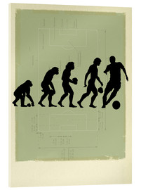 Acrylic print  Football Evolution - Smetek