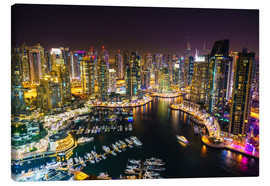 Canvas print  Dubai Marina - Fraser Hall