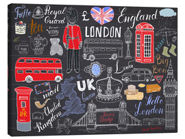 Canvas print  London at a glance