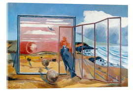 Acrylic glass  Landscape from a Dream - Paul Nash