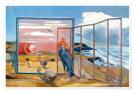 Premium poster  Landscape from a Dream - Paul Nash