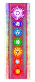 Premium poster The Seven Chakras Series 6 - Artwork 5