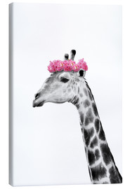 Canvas  Dressy Giraffe - Julia Bruch