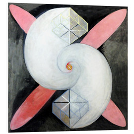 Foam board print  The swan, No. 21 - Hilma af Klint