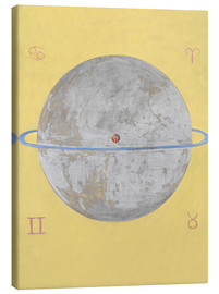 Canvas print  The Dove, No. 12 - Hilma af Klint