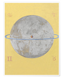 Premium poster  The Dove, No. 12 - Hilma af Klint
