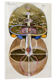 Foam board print  Tree of Knowledge, No. 1 - Hilma af Klint