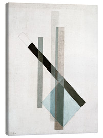 Canvas print  Construction (glass architecture) - László Moholy-Nagy