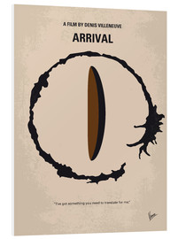 Forex  No735 My Arrival minimal movie poster - chungkong