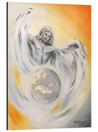 Aluminium print  Guardian angel of world peace - Marita Zacharias