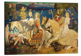 Aluminium print  Riders of the Sidhe - John Duncan