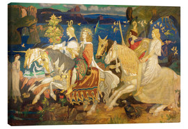 Canvas print  Riders of the Sidhe - John Duncan