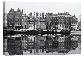 Canvas  Reflections of Amsterdam - George Pachantouris