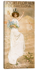 Canvas print  Yoke Florals de Barcelona - Ramon Casas i Carbo