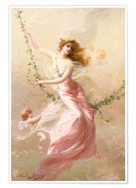 Premium poster  The swing - Edouard Bisson