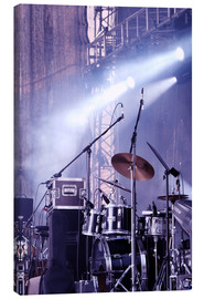 Canvas print  Drums in the spotlight