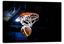 Canvas print  Basketball game