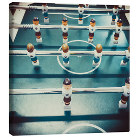 Canvas  Old Foosballtable