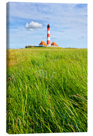 Canvas print  Westerhever in summer