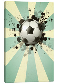 Canvas  Football forever - Kidz Collection