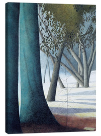 Canvas print  Beech Trunks - Léon Spilliaert