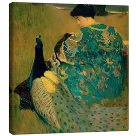 Canvas print  Mandarin Robe - Arthur Frank Mathews