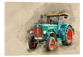 Acrylic glass  Hanomag tractor Oldtimer - Peter Roder