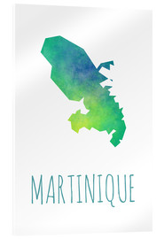 Acrylic print  Martinique - Stephanie Wittenburg