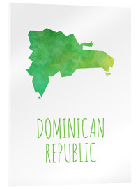 Acrylic print  Dominican Republic - Stephanie Wittenburg