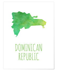 Premium poster  Dominican Republic - Stephanie Wittenburg