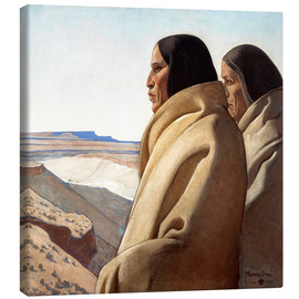 Canvas  Men of the Red Earth - Maynard Dixon