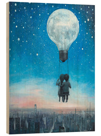 Wood  our love will light the night - Adrian Borda