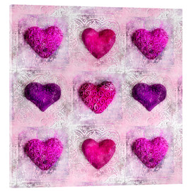 Acrylic print  Pink Passion - Andrea Haase