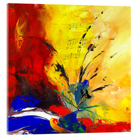 Acrylic glass  Music and Love - Niksic Katarina