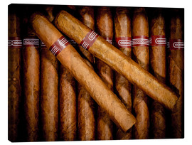 Canvas print  cigars