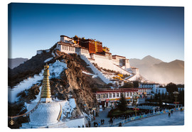 Canvas print  Famous Potala palace in Lhasa, Tibet - Matteo Colombo