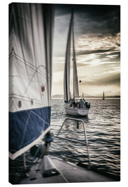 Canvas  Sailing - Thomas Klinder
