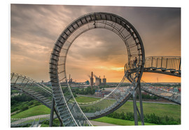 Foam board print  Tiger & Turtle Magic Mountain Duisburg - Dennis Stracke